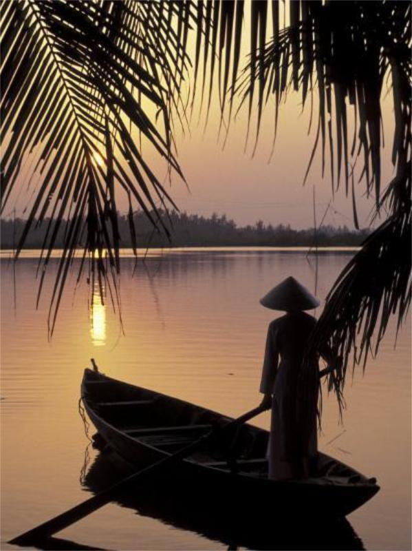 Pescatore del Vietnam