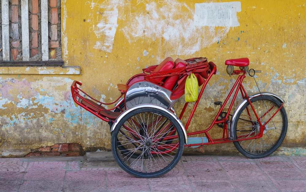Risciò rosso per le strade del Vietnam
