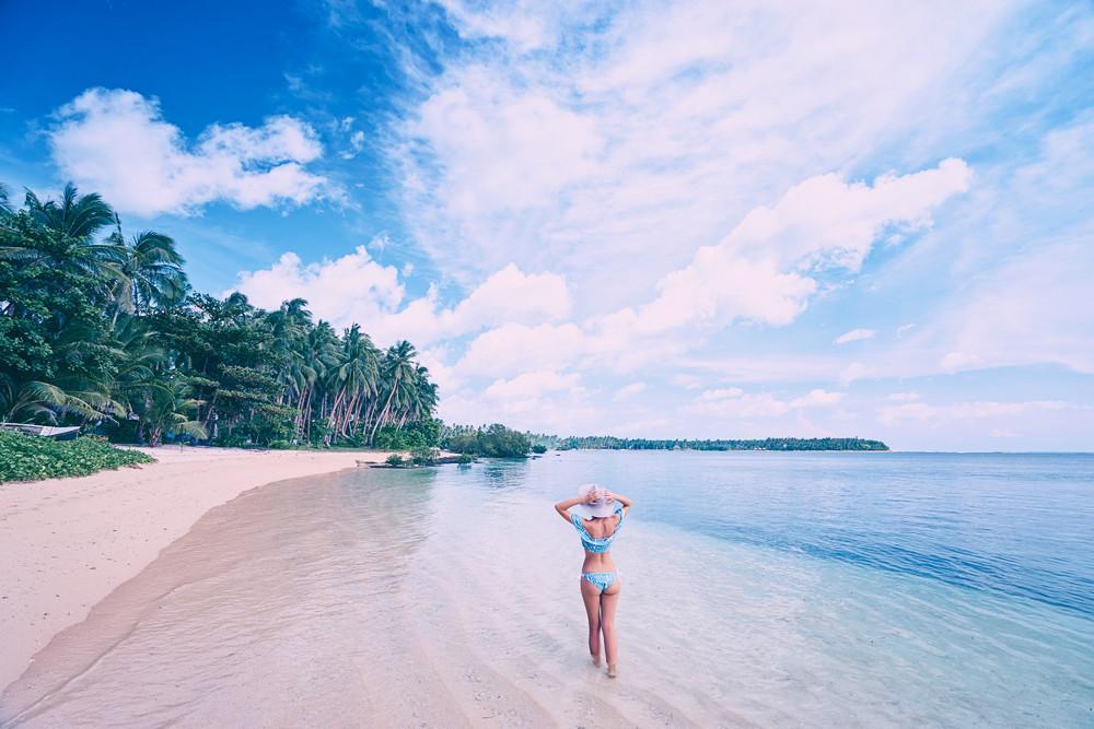 Vacanze in Vietnam, vista della spiaggia di A Bang