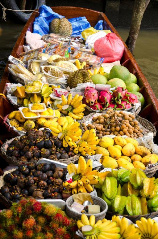 I tipici mercati del Vietnam del Sud