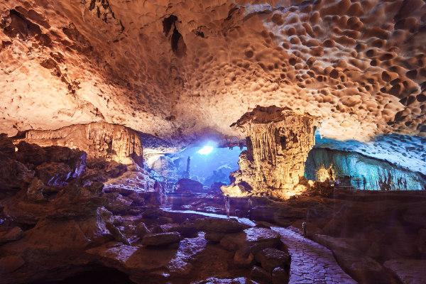 Le grotte delle Sorprese Sung Sot