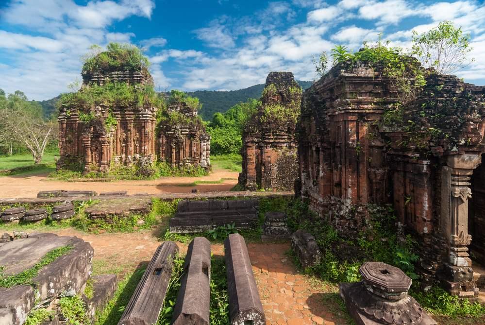 Santuario di My Son in Vietnam