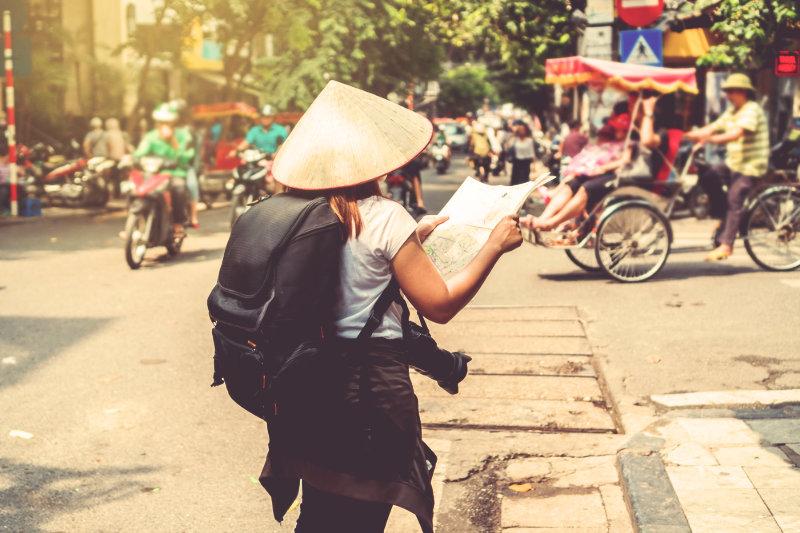 Turisti in Vietnam