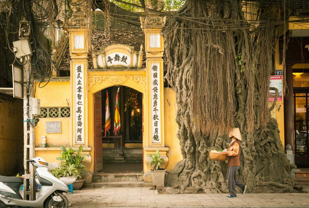 Il quartiere vecchio è una meta da vedere ad Hanoi
