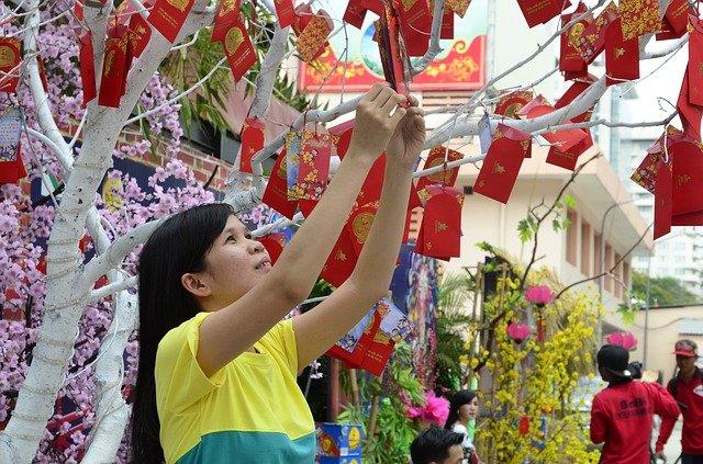Festeggiare il capodanno in Vietnam