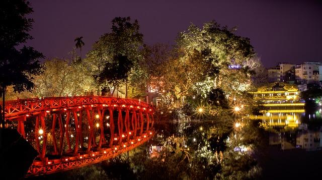 Da vedere ad Hanoi c'è il lago di Hoan Kiem