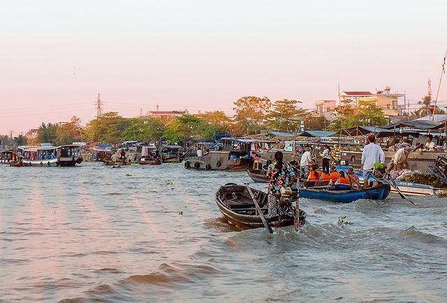 Cai Rang il mercato galleggiante