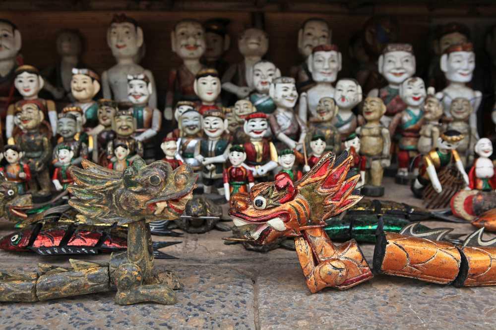 Vacanze in Vietnam con i bimbi: le marionette