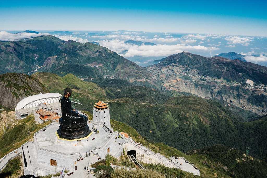 Vista aerea di Sapa: assolutamente da vedere